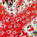 Mingqi Ge - Britain Flag In Water...