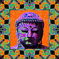 Buddha Abstract Window 20130130p85 by Wingsdomain Art and Photography