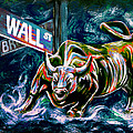 Teshia Art - Bull Market Night