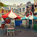 Thomas Woolworth - Cafe Seating Disneyland...