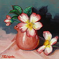 Margaret Stockdale - Camellias And Chinese...