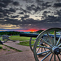 Canon Over Gettysburg by Andres Leon