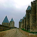 France  Art - Carcassonne Walls