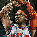 Carmelo Anthony by Michael  Pattison