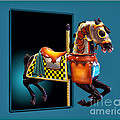 Thomas Woolworth - Carousel Horse Left Side