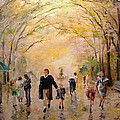 Alan Lakin - Central Park Early Spring