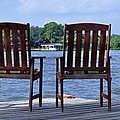 Kristina Deane - Chairs on the Lake