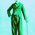 Charlie Chaplin The Tramp 20130216m150 by Wingsdomain Art and Photography