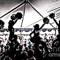 Tom Gari Gallery-Three-Photography - Cheer Silhouette