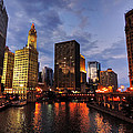 Lance Vaughn - Chicago River Twilight...