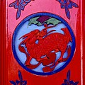 Anna Lisa Yoder - Chinese Dragon on Red...
