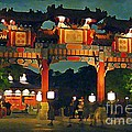 John Malone - Chinese Entrance Arch