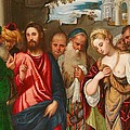 Christ And The Woman Taken In Adultery by Veronese