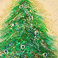 First Star Art  - Christmas Tree Gold by...