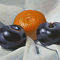 Peter Orrock - Clementine and plums