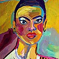 Janet Ashworth - Colorful Lady