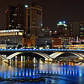 Frozen in Time Fine Art Photography - Columbus Ohio Panorama
