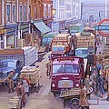 Mike  Jeffries - Covent Garden market.