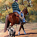 Randy Follis - Cowboy and Dog