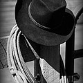 Paul Ward - Cowboy Hat on Fence Post...