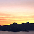 Brian Harig - Crater Lake Sunset