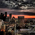 Robert McCubbin - Dallas Skyline-Sunrise