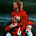 Paul  Meijering - David Beckham and Juan...