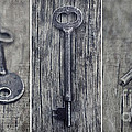 Priska Wettstein - decorative vintage keys...