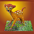 Thomas Woolworth - Disney Floral 03 Bambi