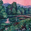 Kendall Kessler - Dusk on the Little River