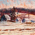 Tim  Swagerle - Eel River Winter
