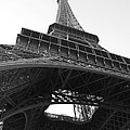 Jennifer Lyon - Eiffel Tower b/w