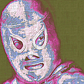 El Santo The Masked Wrestler 20130218v2m168 by Wingsdomain Art and Photography