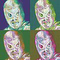 El Santo The Masked Wrestler Four 20130218 by Wingsdomain Art and Photography