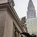 Empire State Building And Grand Central Station by For Ninety One Days