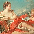 Erato  The Muse Of Love Poetry by Francois Boucher