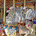 Ann Horn - Fanciful Carousel Ponies