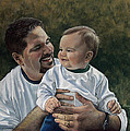Karen Barton - Father and Son