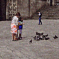 Mary Machare - Feeding Pigeons in...