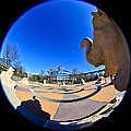 Fish Eye View Of Coolidge Park by Tom and Pat Cory