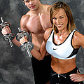 Gary Gingrich Galleries - Fitness Couple 17-2