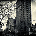 Flat Iron Building Fifth Avenue And Broadway by Sabine Jacobs