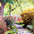 Abbie Groves - Floral Path