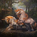 Kerry Nelson - Forest Unicorns