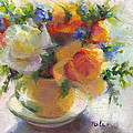 Talya Johnson - Fresh - Roses in teacup