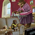 Martin Davey - Front Room Bear Family...