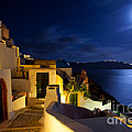 Full Moon At Santorini by Aiolos Greek Collections