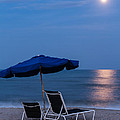 Dawna  Moore Photography - Full Moon Rising over...