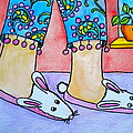 Debi Pople - Funny Bunny Slippers