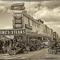 Geno's With Cycles by Jack Paolini
